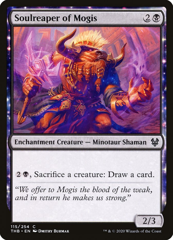 Carta Ceifador de Almas de Mogis/Soulreaper of Mogis de Magic the Gathering