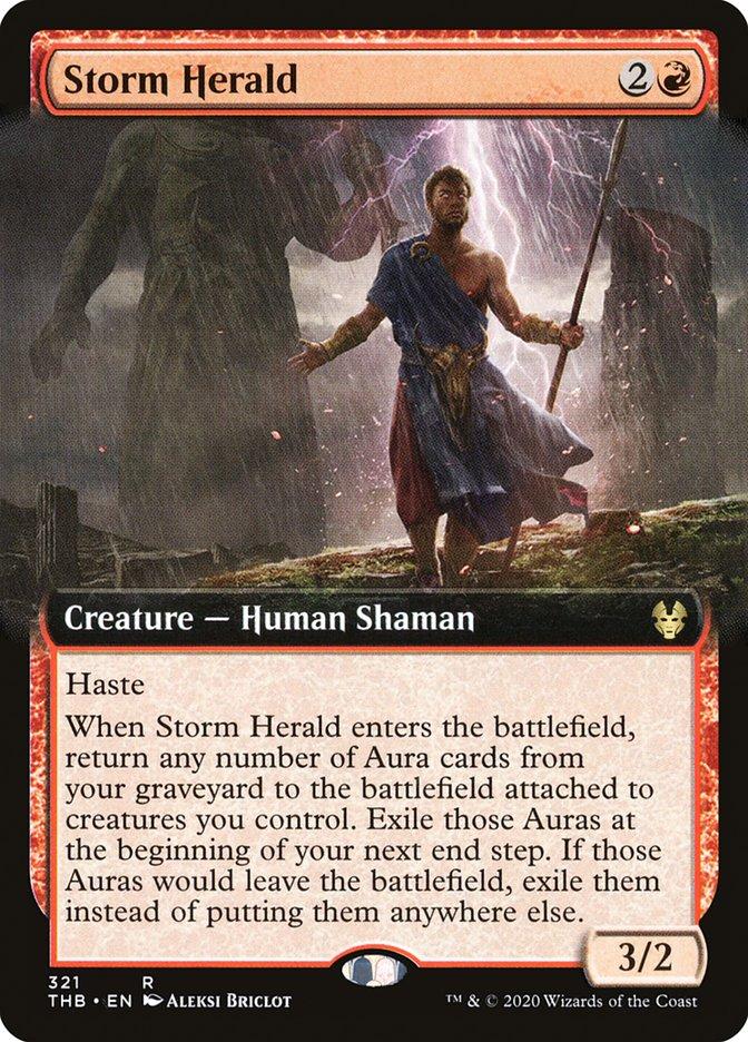 Carta Arauto da Tempestade/Storm Herald de Magic the Gathering