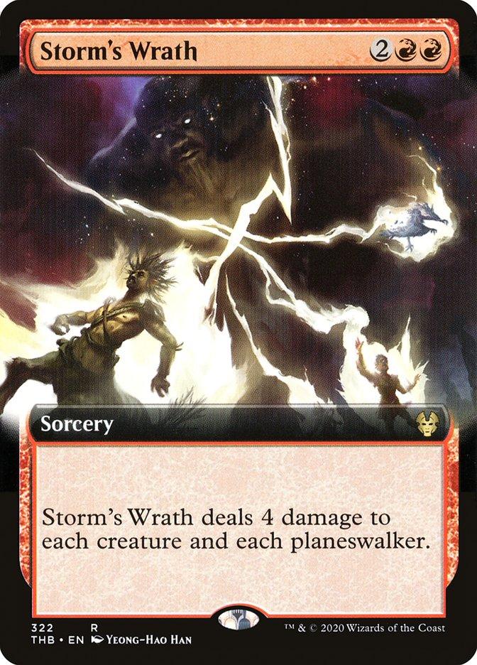 Carta Ira da Tempestade/Storm's Wrath de Magic the Gathering