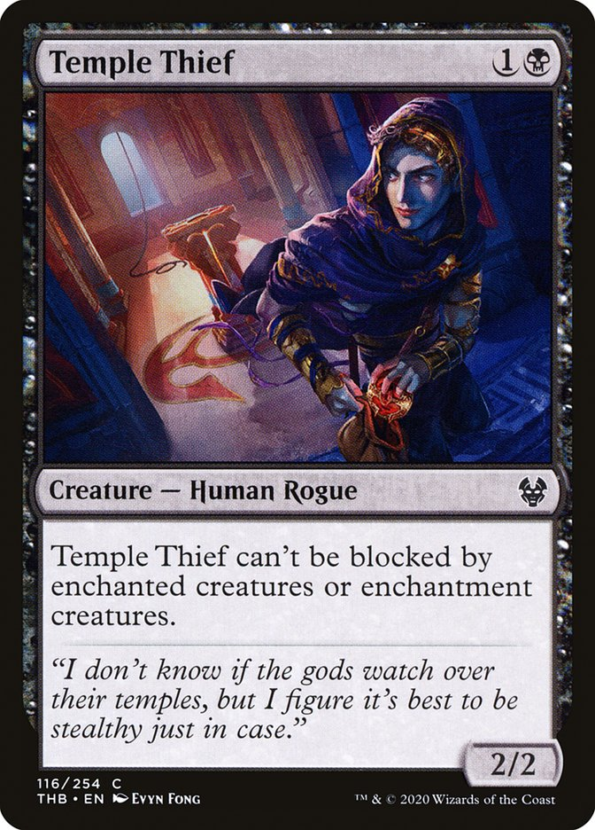 Carta Ladrão de Templos/Temple Thief de Magic the Gathering
