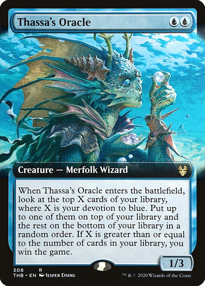Carta Oráculo de Tassa/Thassa's Oracle de Magic the Gathering