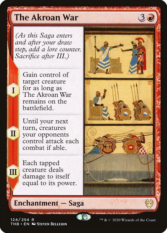 Carta A Guerra Acrosana/The Akroan War de Magic the Gathering