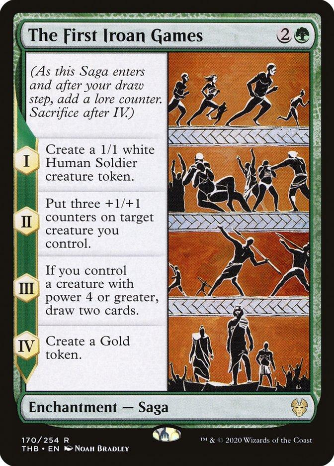 Carta Os Primeiros Jogos Iroanos/The First Iroan Games de Magic the Gathering