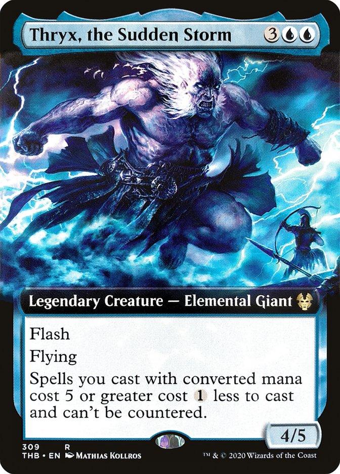 Carta Trix, a Tempestade Repentina/Thryx, the Sudden Storm de Magic the Gathering