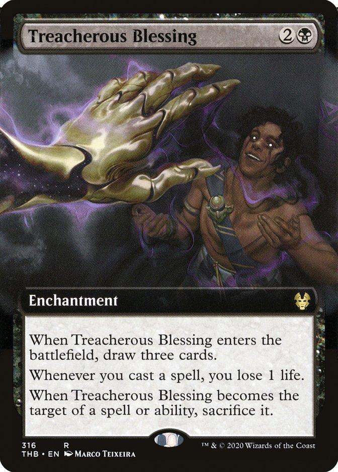 Carta Bênção Traiçoeira/Treacherous Blessing de Magic the Gathering