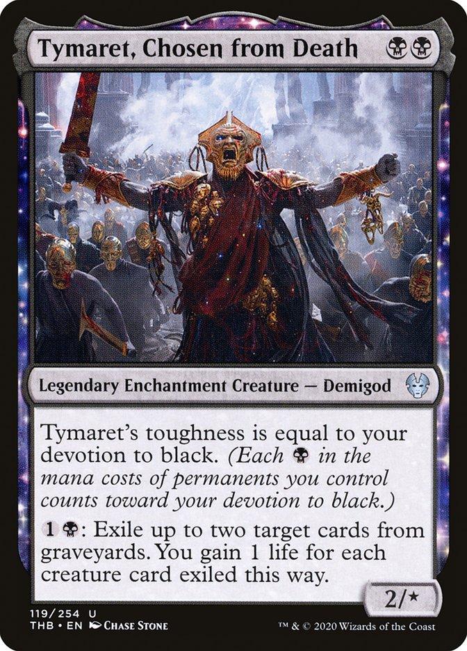 Carta Tymaret, Escolhido pela Morte/Tymaret, Chosen from Death de Magic the Gathering
