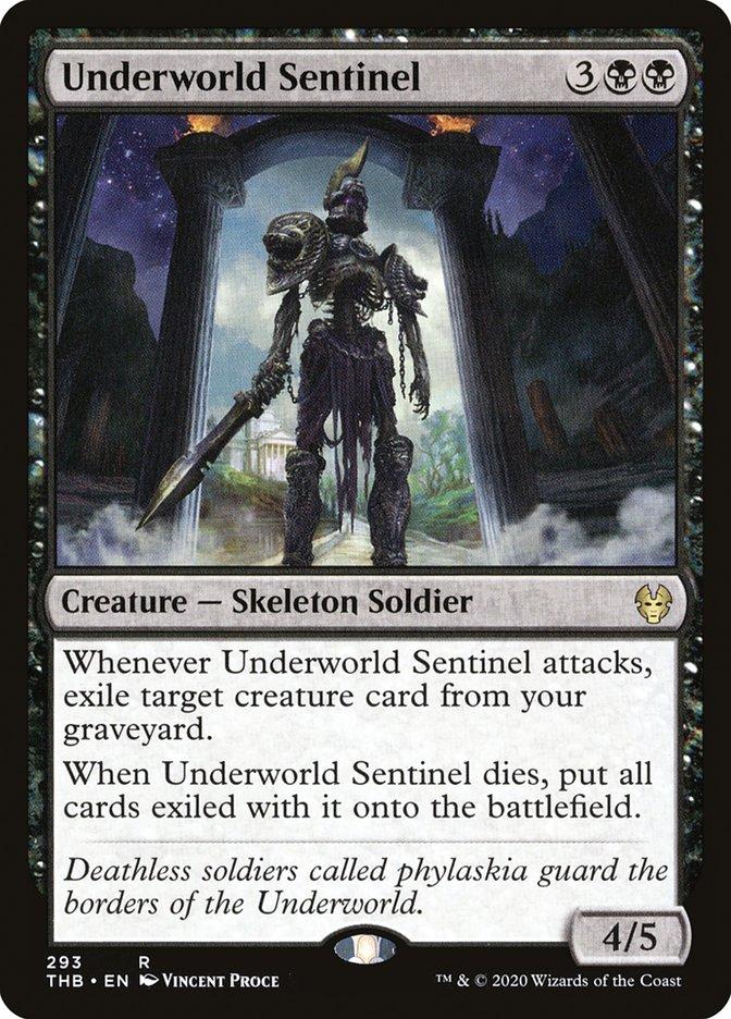 Carta Sentinela do Submundo/Underworld Sentinel de Magic the Gathering