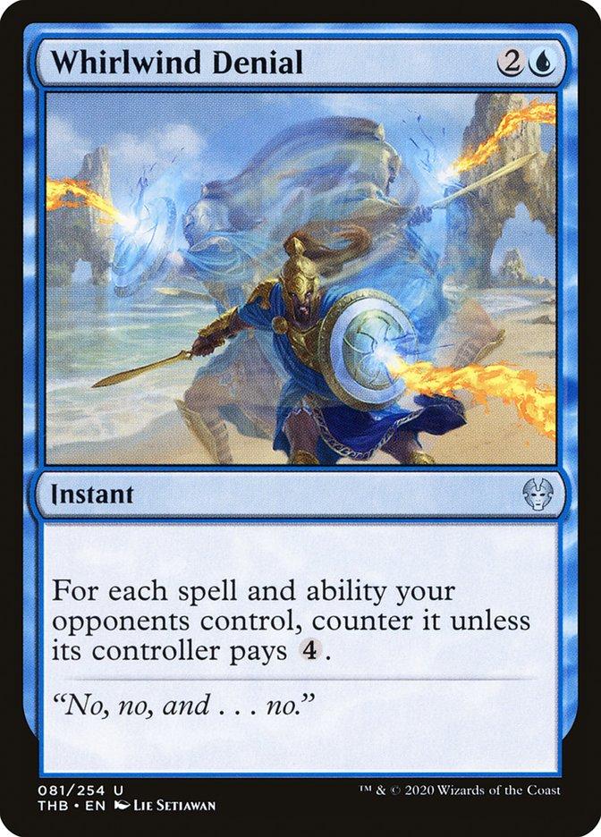Carta Negação Vorticosa/Whirlwind Denial de Magic the Gathering