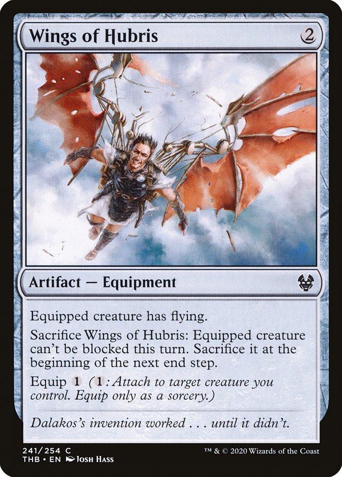 Carta Asas da Arrogância/Wings of Hubris de Magic the Gathering