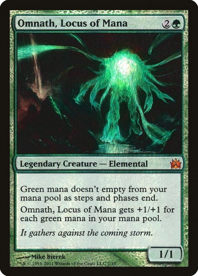 Carta Omnath, Locus de Mana/Omnath, Locus of Mana de Magic the Gathering