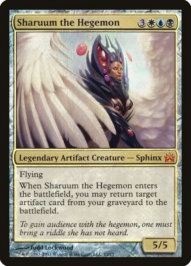 Carta Sharuum, a Hegemônica/Sharuum the Hegemon de Magic the Gathering
