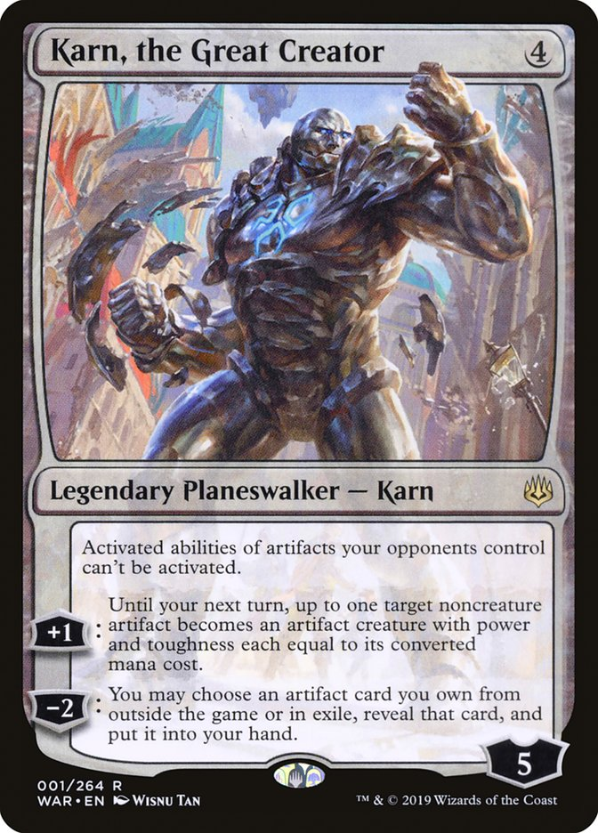 Karn, the Great Creator