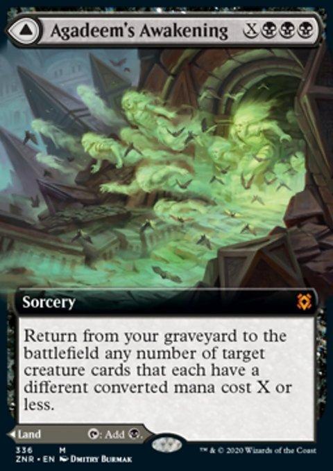 Carta /Agadeem's Awakening // Agadeem, the Undercrypt de Magic the Gathering