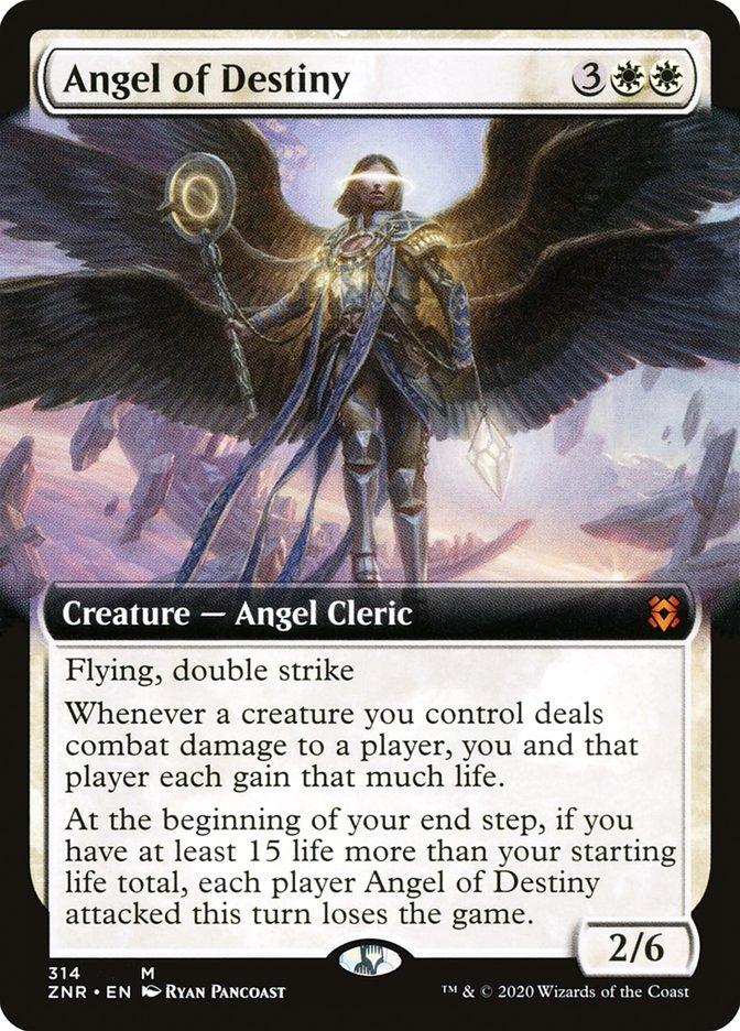 Carta Anjo do Destino/Angel of Destiny de Magic the Gathering
