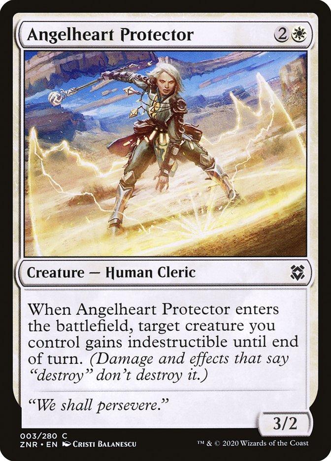 Carta Protetora do Coração de Anjo/Angelheart Protector de Magic the Gathering