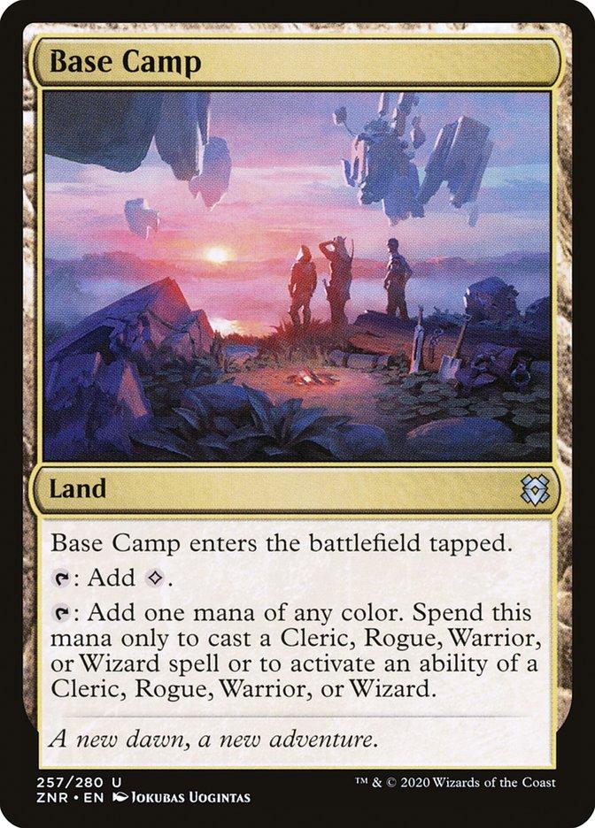 Carta Acampamento Base/Base Camp de Magic the Gathering