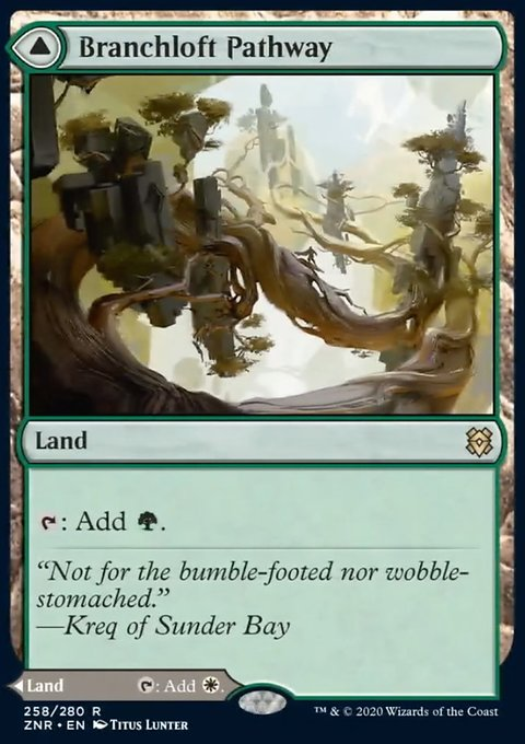 Carta /Branchloft Pathway // Boulderloft Pathway de Magic the Gathering
