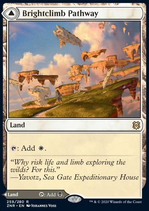Carta /Brightclimb Pathway // Grimclimb Pathway de Magic the Gathering
