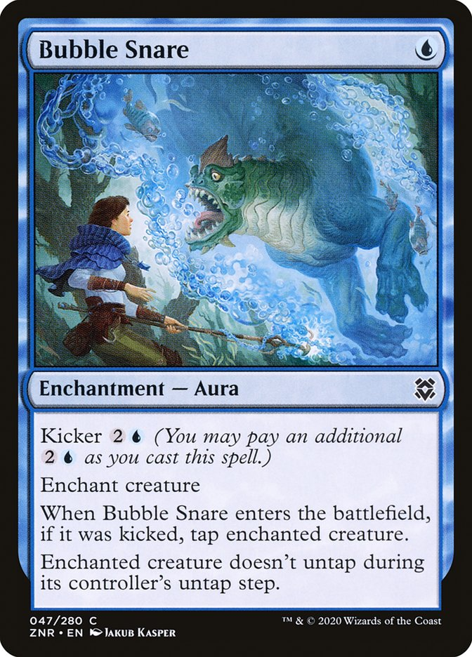 Carta Armadilha de Bolhas/Bubble Snare de Magic the Gathering