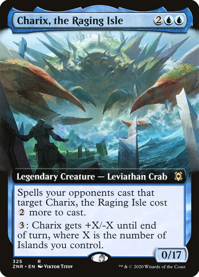 Carta Charix, Ilha da Fúria/Charix, the Raging Isle de Magic the Gathering