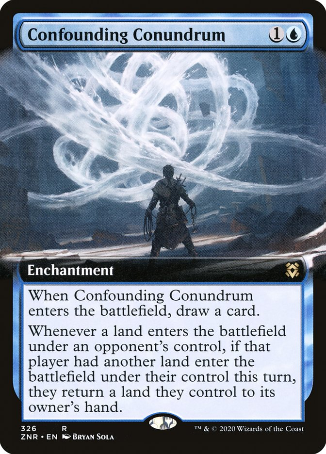 Carta Dilema Confuso/Confounding Conundrum de Magic the Gathering