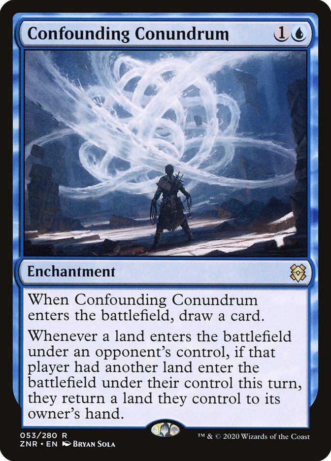 Carta Dilema Confuso/Confounding Conundrum de Magic the Gathering