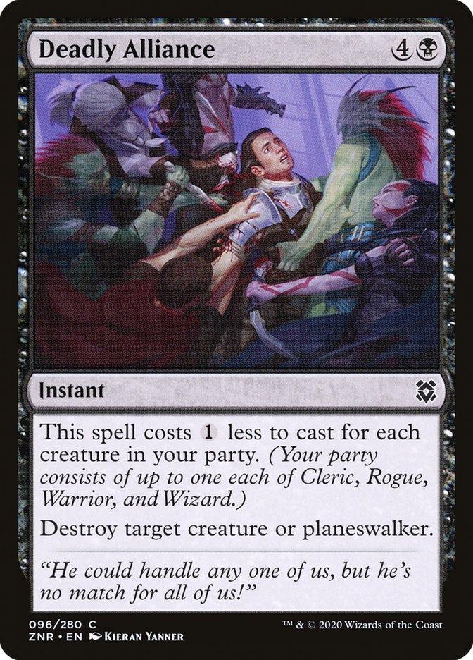 Carta Aliança Mortífera/Deadly Alliance de Magic the Gathering
