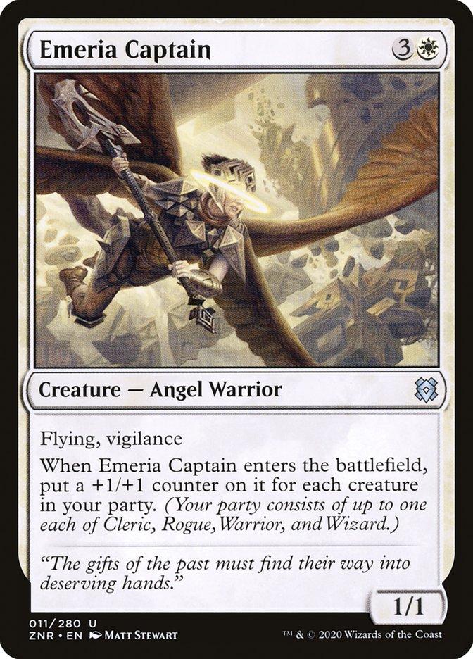 Carta Capitã de Emeria/Emeria Captain de Magic the Gathering