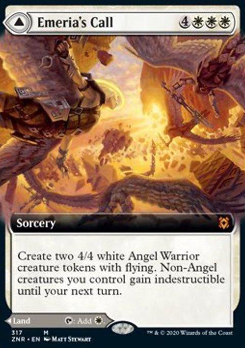 Carta /Emeria's Call // Emeria, Shattered Skyclave de Magic the Gathering