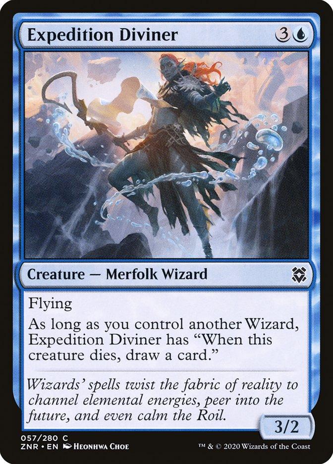 Carta Adivinha da Expedição/Expedition Diviner de Magic the Gathering