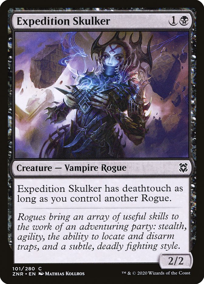 Carta Espreitadora da Expedição/Expedition Skulker de Magic the Gathering