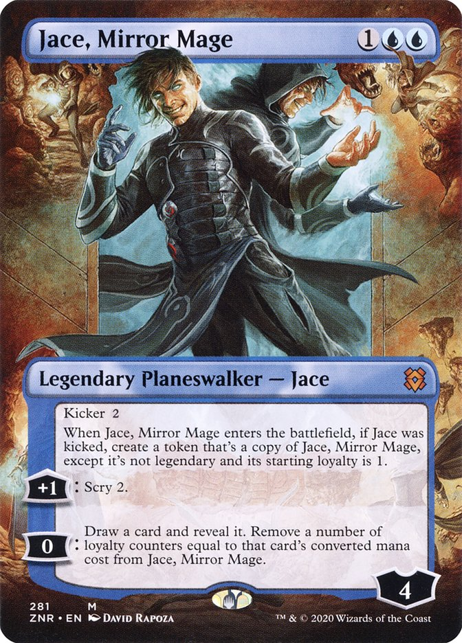 Carta Jace, Mago dos Espelhos/Jace, Mirror Mage de Magic the Gathering