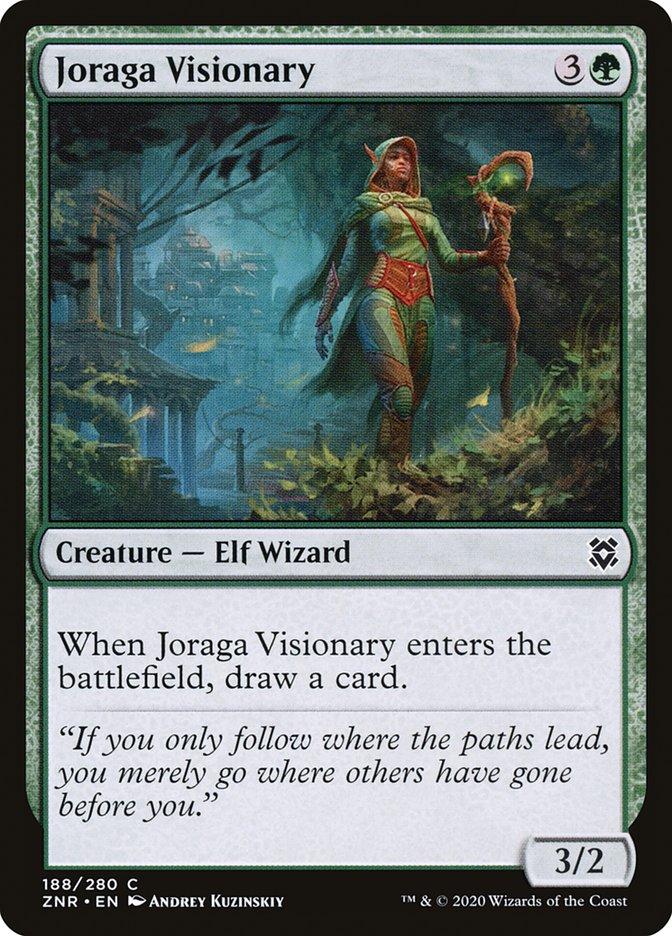 Carta Visionária Joraga/Joraga Visionary de Magic the Gathering