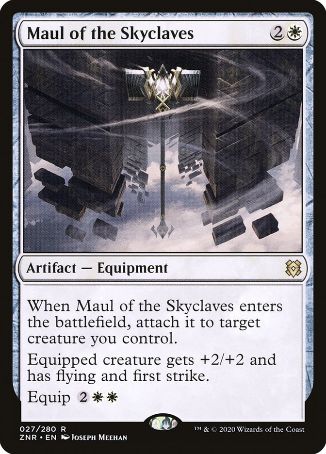 Carta Malho dos Enclaves Celestes/Maul of the Skyclaves de Magic the Gathering