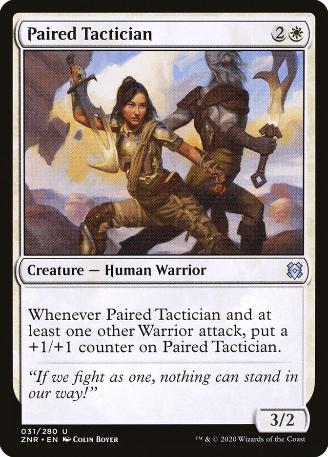 Carta Tática Emparceirada/Paired Tactician de Magic the Gathering