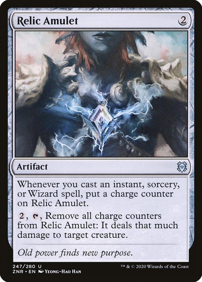 Carta Amuleto Relíquia/Relic Amulet de Magic the Gathering