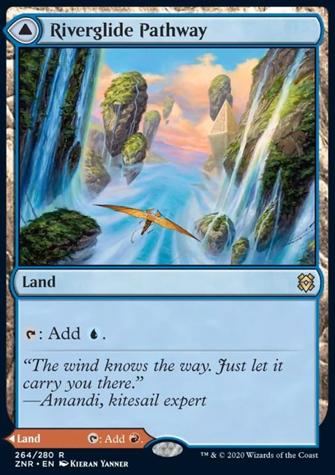Carta /Riverglide Pathway // Lavaglide Pathway de Magic the Gathering