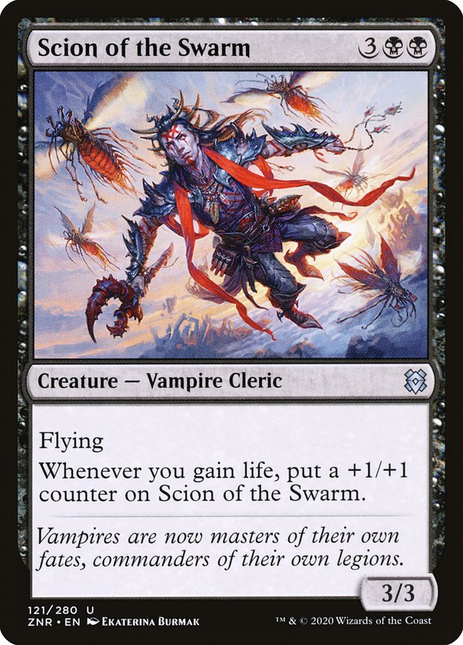 Carta Herdeiro do Enxame/Scion of the Swarm de Magic the Gathering