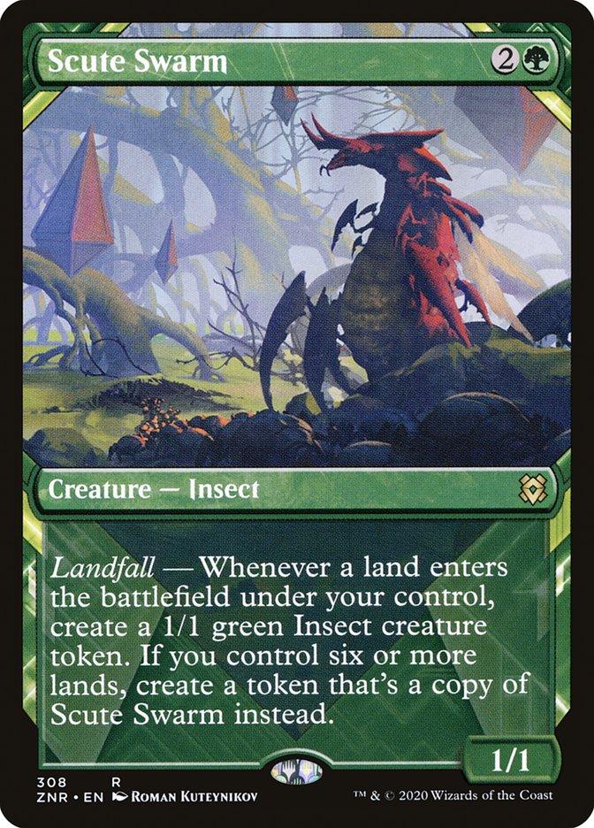 Carta Enxame de Cascudos/Scute Swarm de Magic the Gathering