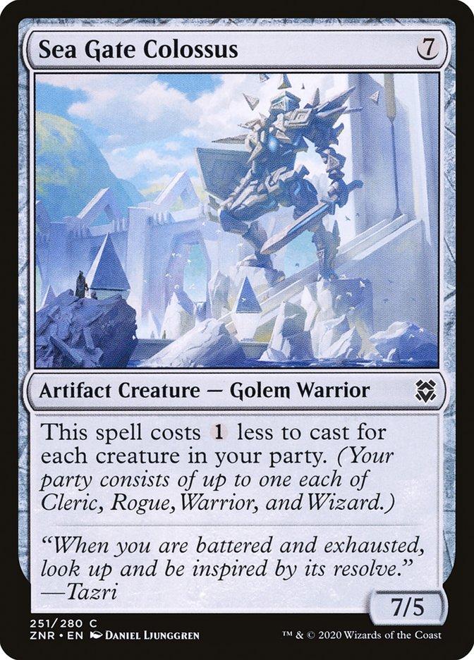 Carta Colosso de Portão Marinho/Sea Gate Colossus de Magic the Gathering