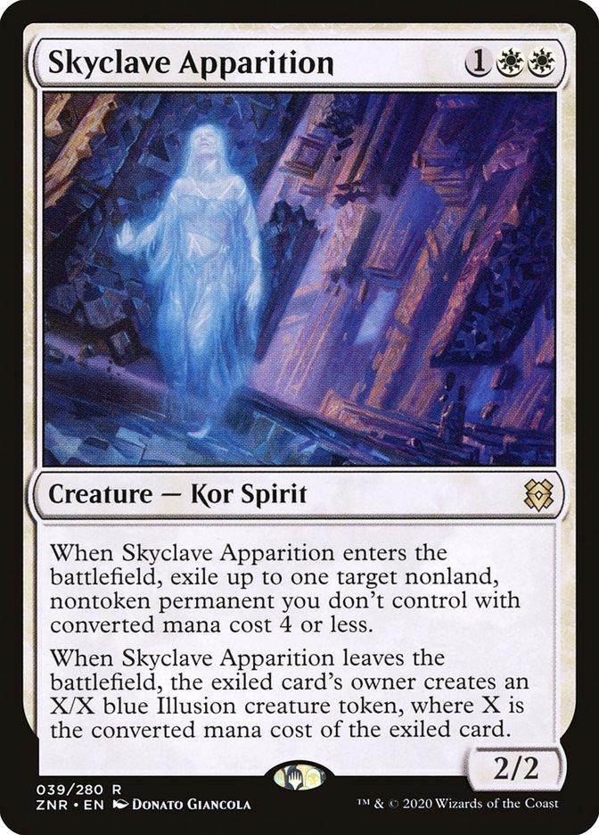 Carta Aparição do Enclave Celeste/Skyclave Apparition de Magic the Gathering