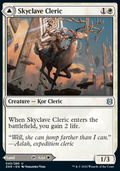 Carta /Skyclave Cleric // Skyclave Basilica de Magic the Gathering