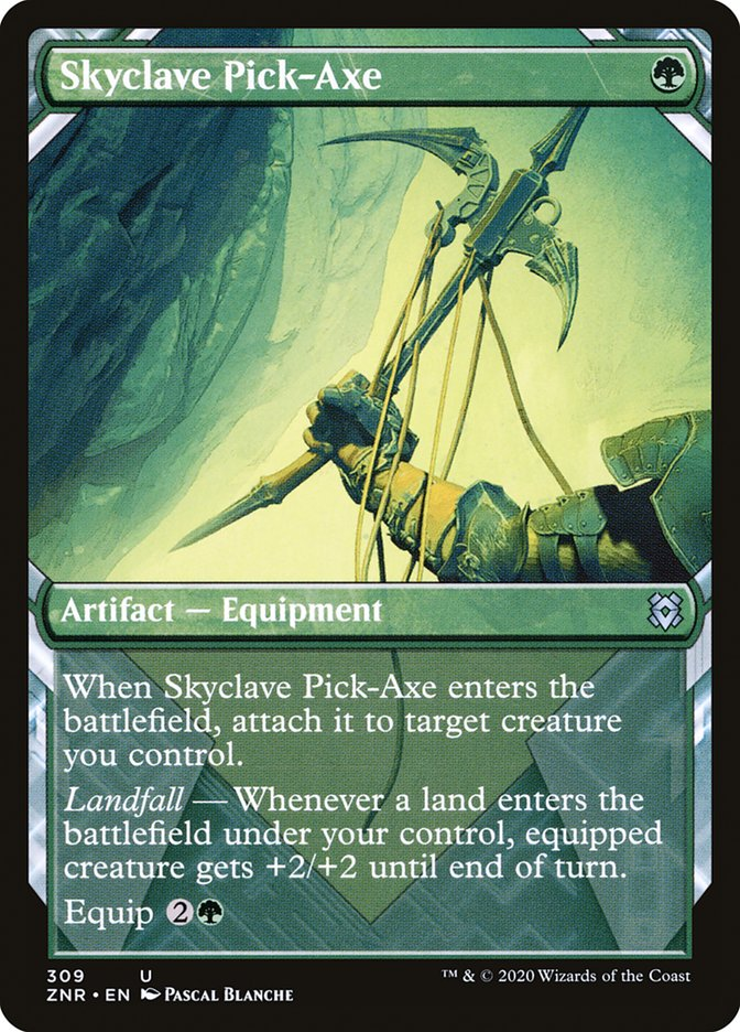 Carta Picareta do Enclave Celeste/Skyclave Pick-Axe de Magic the Gathering