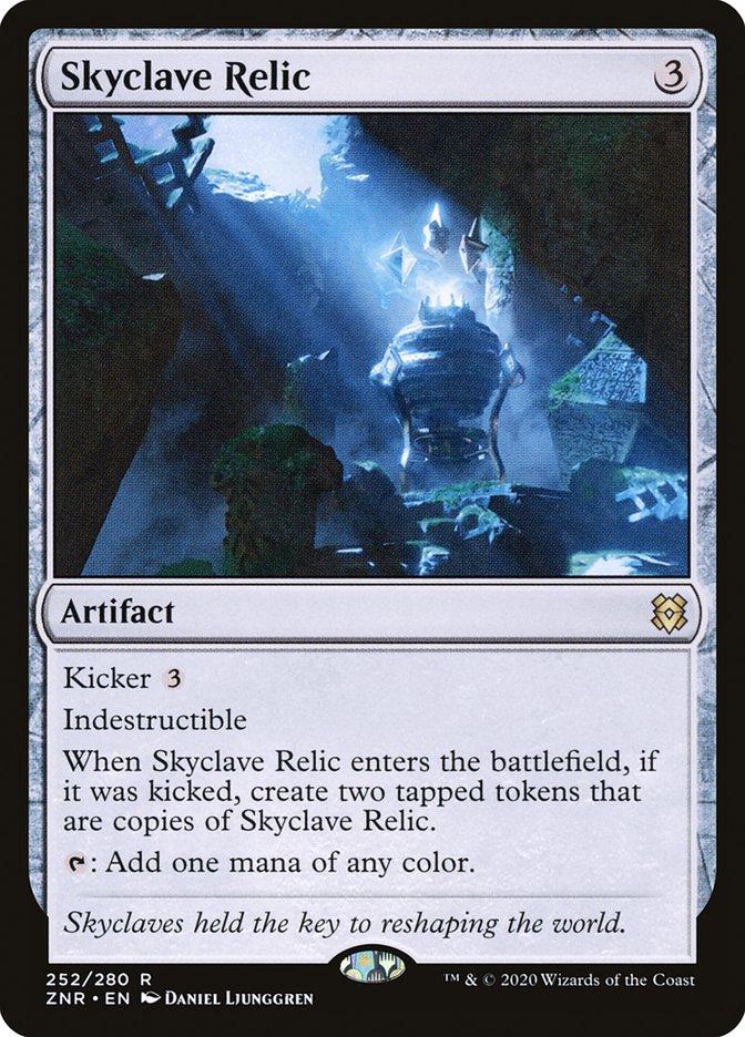 Carta Relíquia do Enclave Celeste/Skyclave Relic de Magic the Gathering