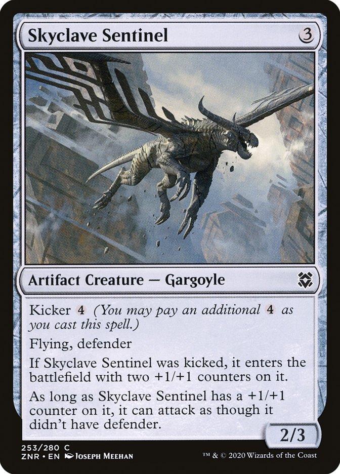 Carta Sentinela do Enclave Celeste/Skyclave Sentinel de Magic the Gathering