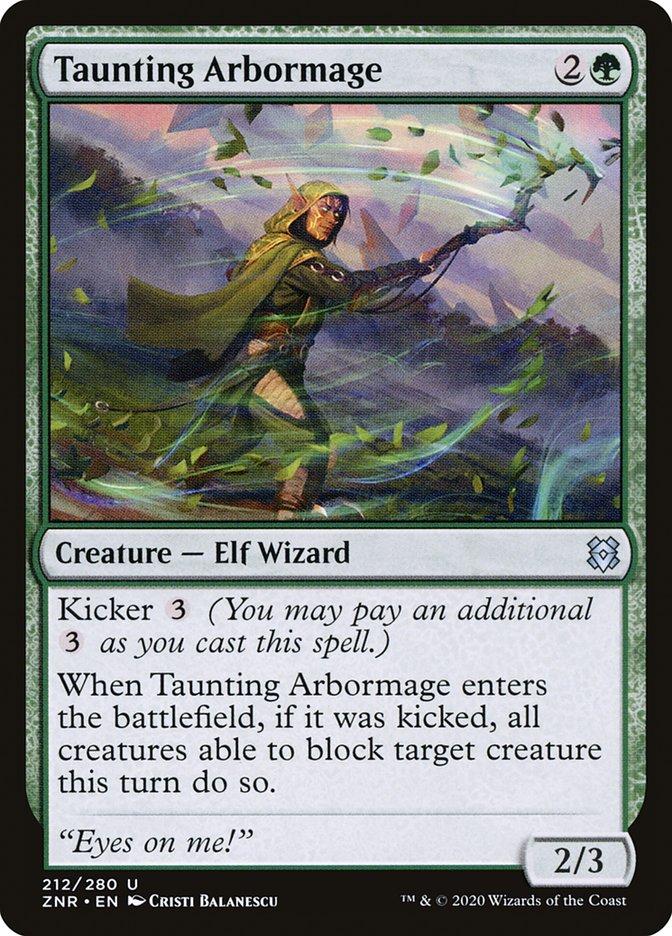 Carta Arborimago Provocador/Taunting Arbormage de Magic the Gathering