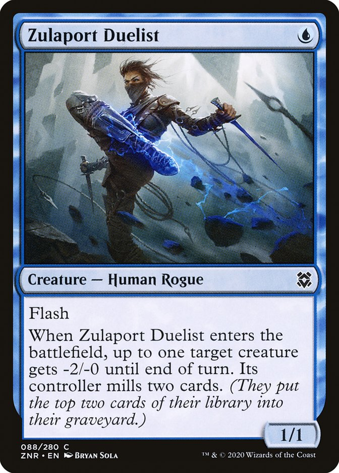 Carta Duelista de Zulaport/Zulaport Duelist de Magic the Gathering